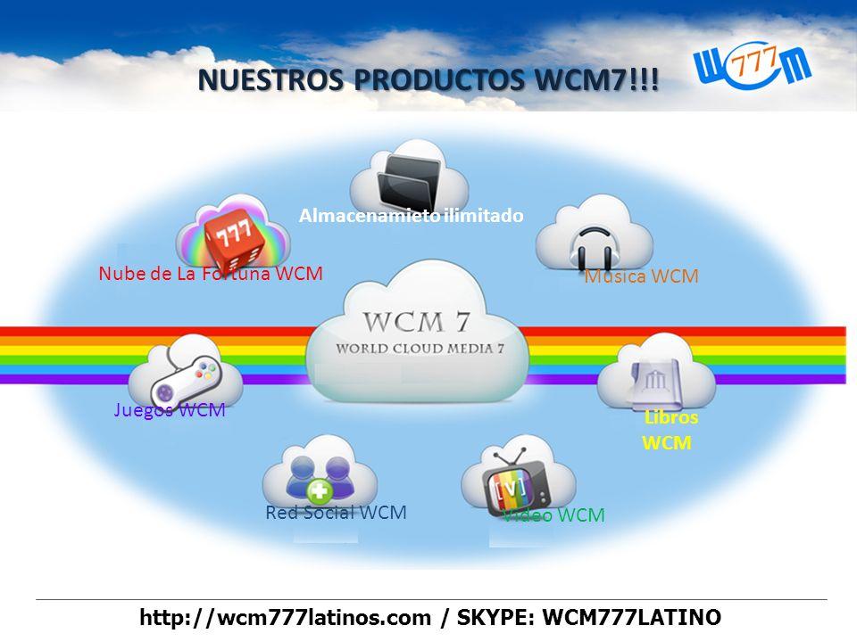 World Cloud Media 7 Spacio ilimitado de almacenamiento!! Escucha musica ilimitada!! Descarga libros Gratis!!! Participa en las rifas Gratis Juegos en