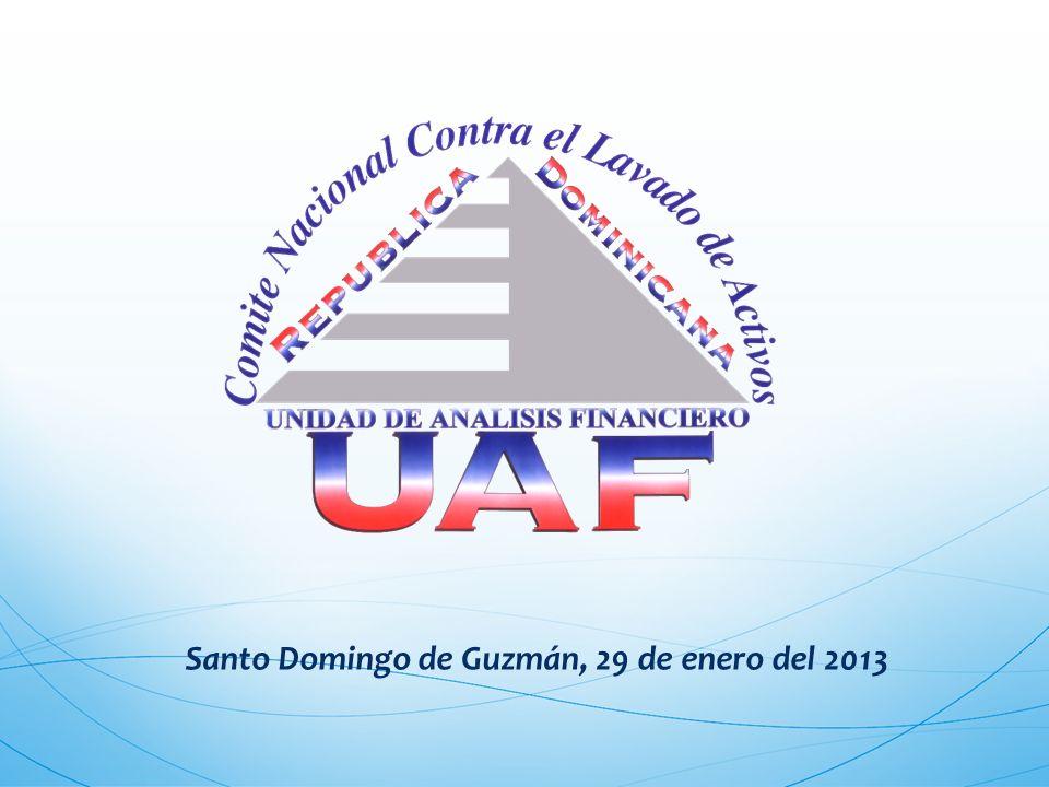 Santo Domingo de Guzmán, 29 de enero del 2013