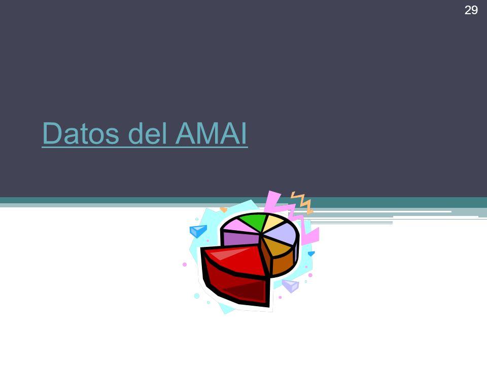 Datos del AMAI 29
