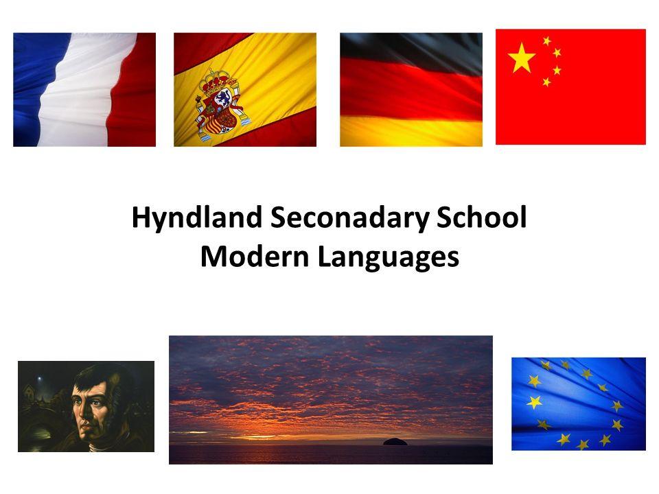 Hyndland Seconadary School Modern Languages