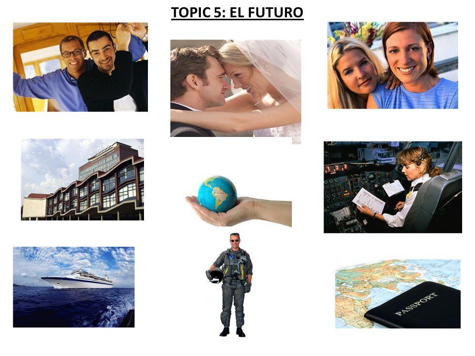 TOPIC 5: EL FUTURO