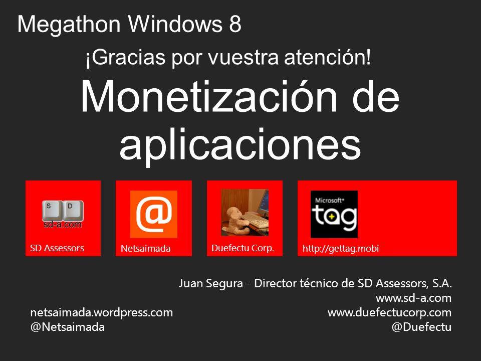 Monetización de aplicaciones Juan Segura - Director técnico de SD Assessors, S.A.