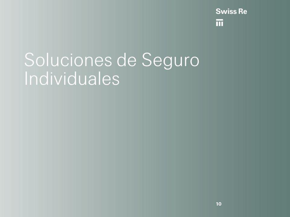 Soluciones de Seguro Individuales 10