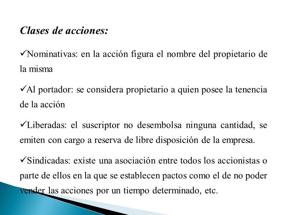 Tipos especiales de acciones Certificado de depósito argentino (CEDEAR) Son certificados de depósito, representativos de una clase de acciones u otros valores de empresas extranjeras que no poseen autorización de OP en nuestro país.