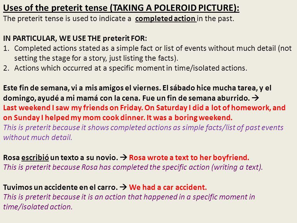 EL IMPERFECTO: El imperfecto de los verbos que terminan en -ar Verb Endings: hablar – to talk Yo -aba (Yo) hablaba Tú -abas (Tú) hablabas Él/Ella/Ud.