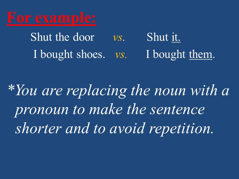 Indirect Object Pronouns: Me Nos Te Os Le Les
