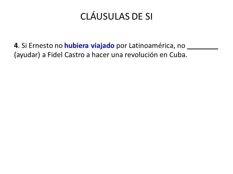 CLÁUSULAS DE SI 4.