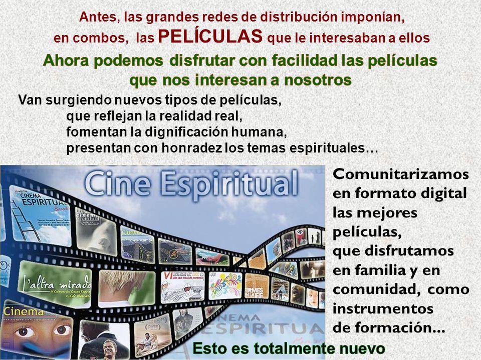 Comunitarizamos en formato digital las mejores películas, que disfrutamos en familia y en comunidad, como instrumentos de formación...