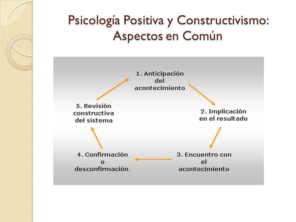 Psicología Positiva y Constructivismo: Integración de Tareas Foco Principal: Mis relaciones