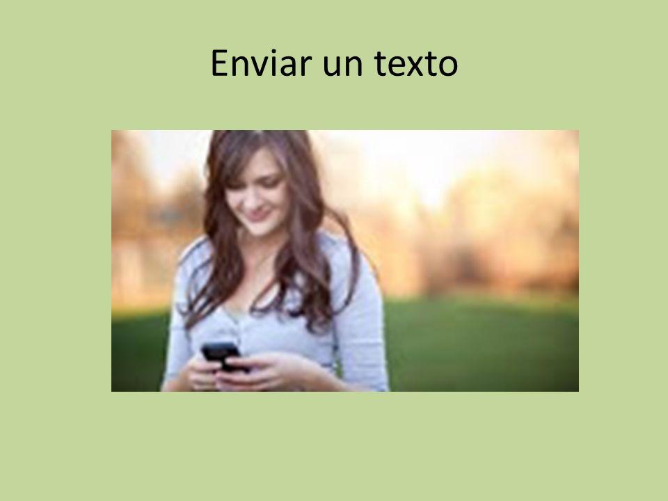 Enviar un texto