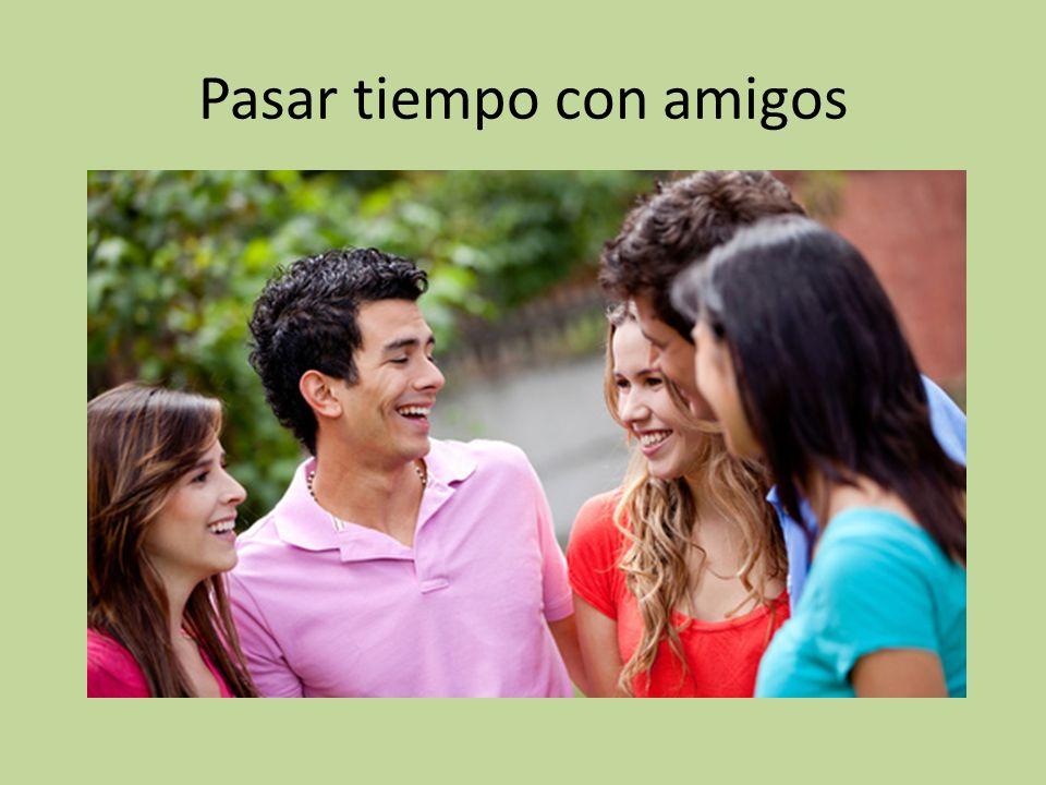 Pasar tiempo con amigos