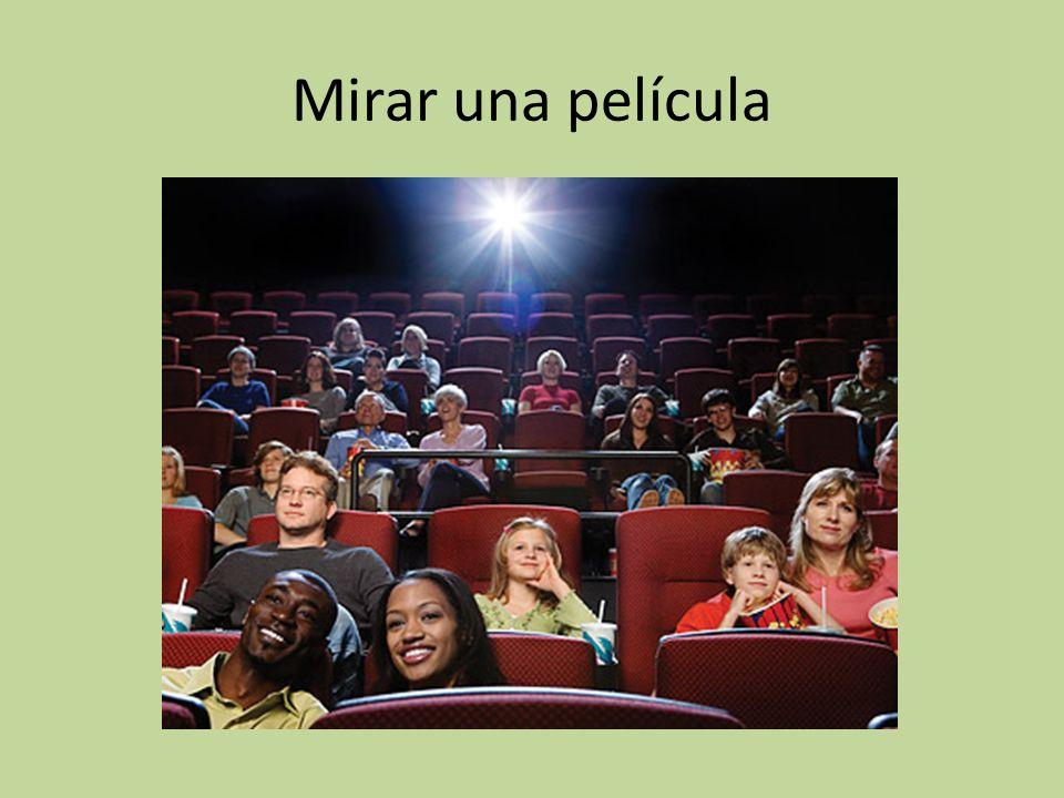 Mirar una película