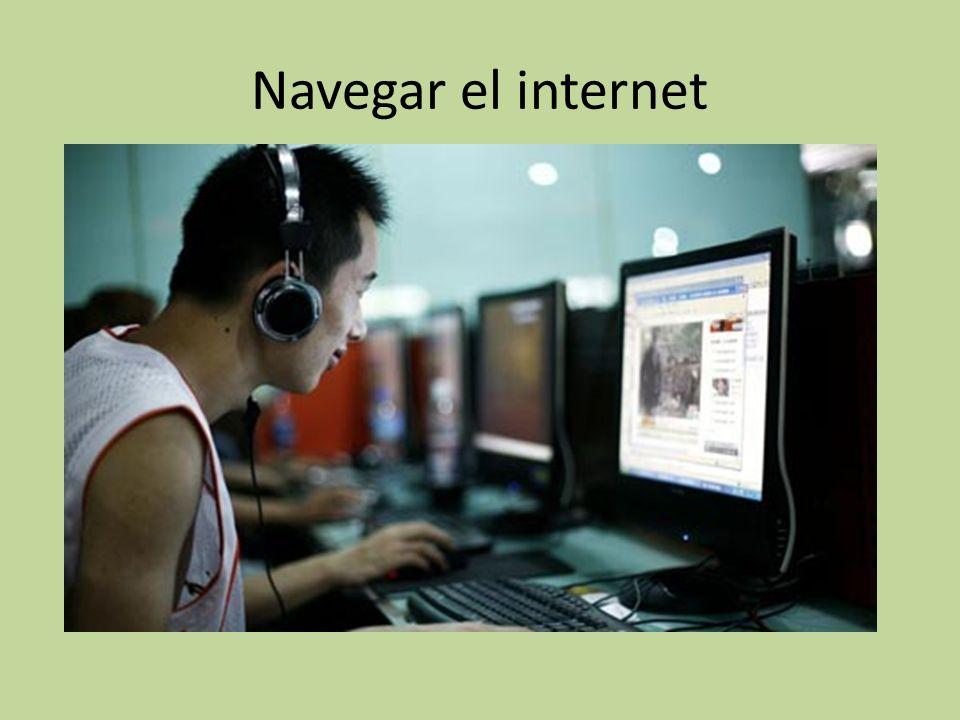 Navegar el internet