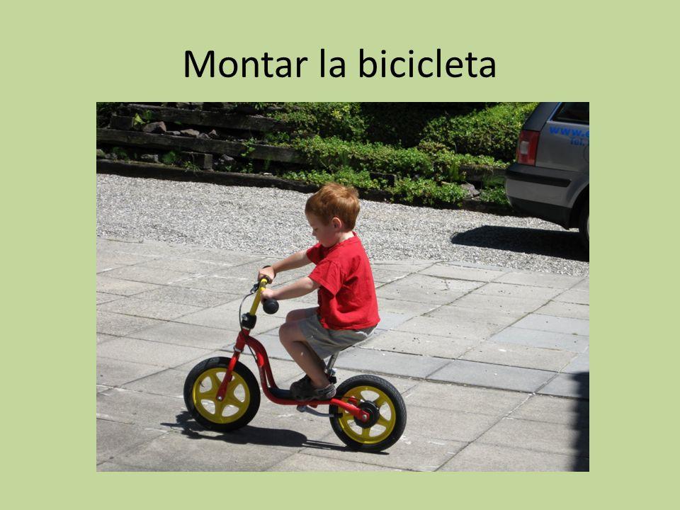 Montar la bicicleta