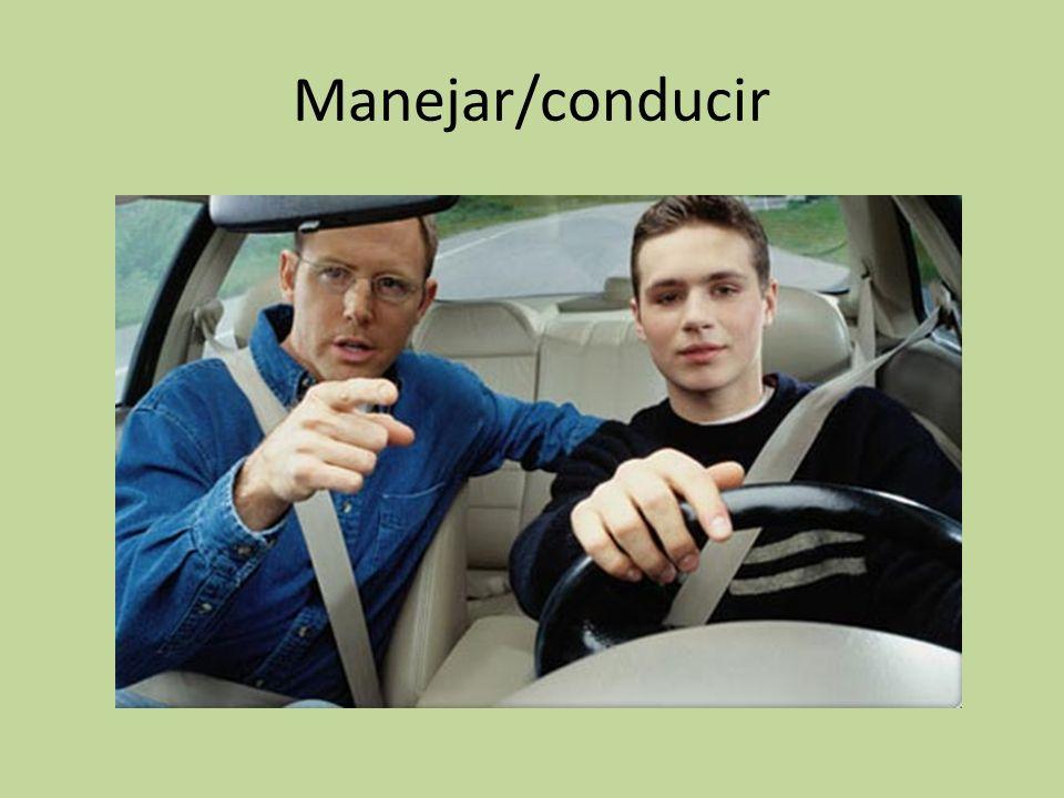 Manejar/conducir