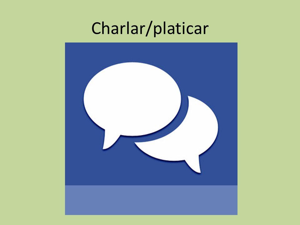 Charlar/platicar