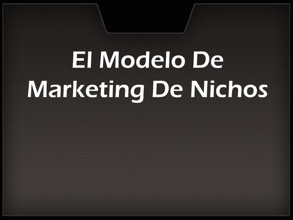 El Modelo De Marketing De Nichos