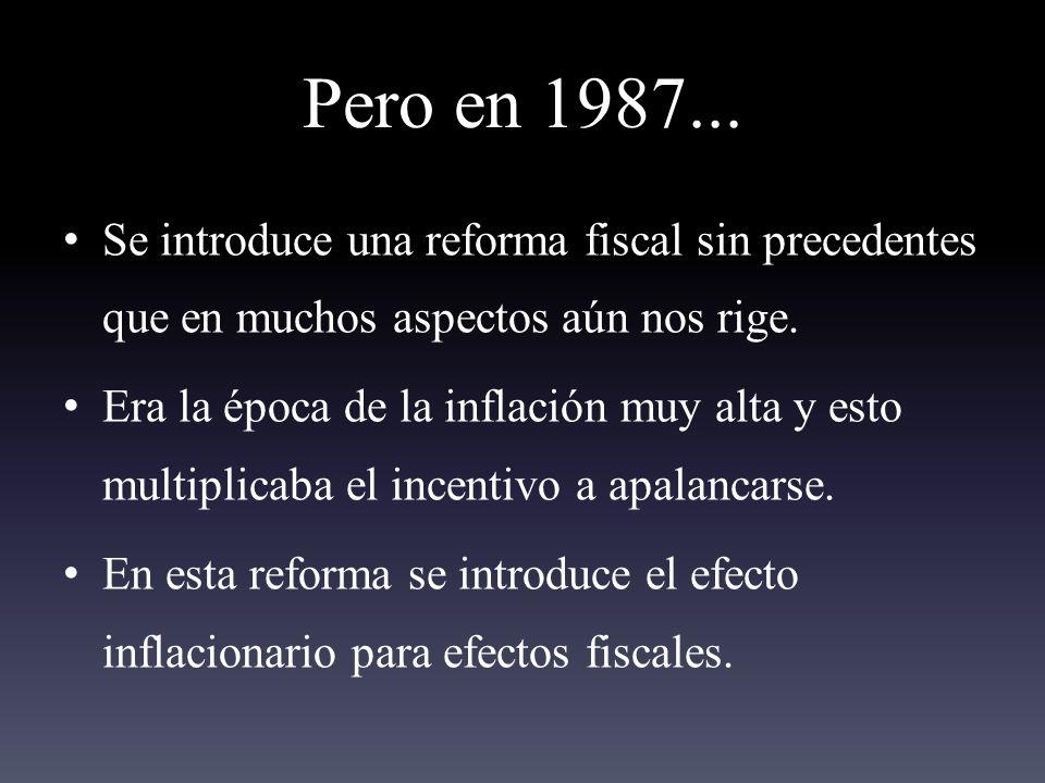 Pero en 1987...