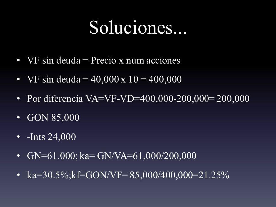 Soluciones...
