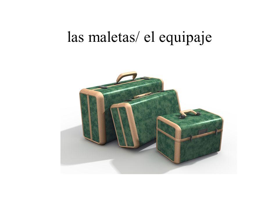 las maletas/ el equipaje