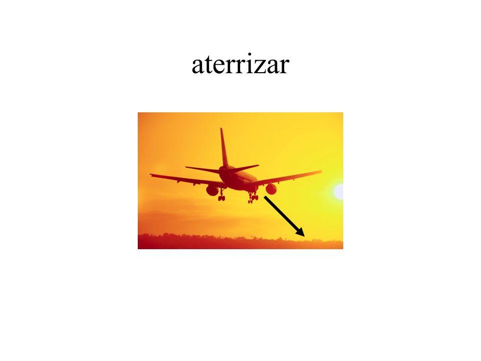 aterrizar