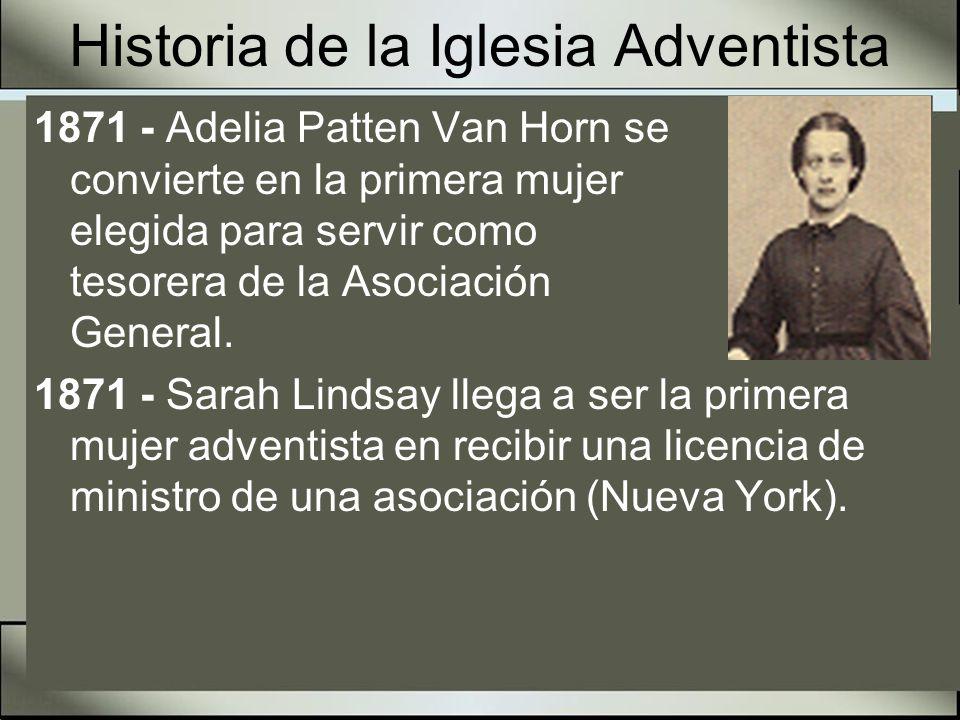 Historia de la Iglesia Adventista 1874 - Comienza la publicación de la Revista Sign of the Times (Señales de los tiempos) en Oakland, California.