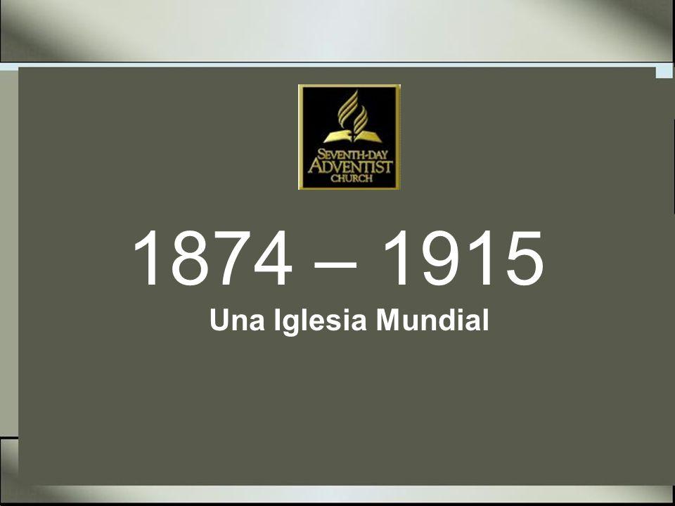 Historia de la Iglesia Adventista 1874 - 15 Septiembre J.