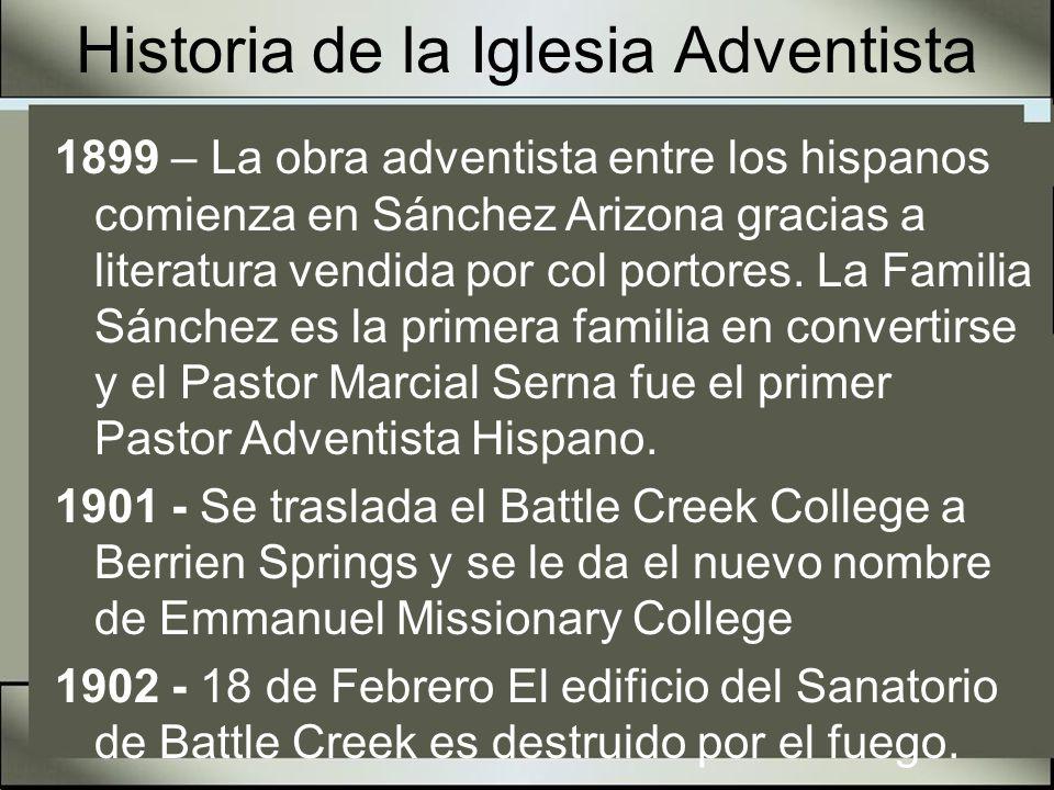 Historia de la Iglesia Adventista 1902 - 30 de Diciembre Un incendio destruye completamente la Review and Herald Publishing en Battle Creek.