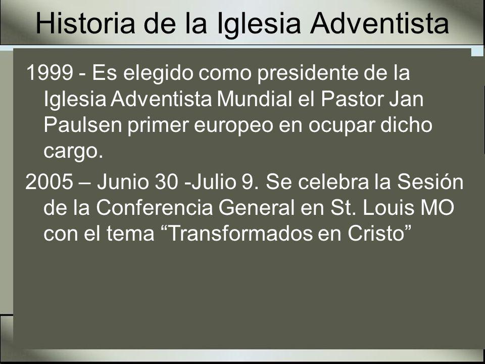Historia de la Iglesia Adventista 2006 – Gran congreso Juvenil Interamericano en la Universidad de Montémorelos, estuvieron presentes mas de 2000 jóvenes y conectaron mas de 2,500 usuarios de Internet.