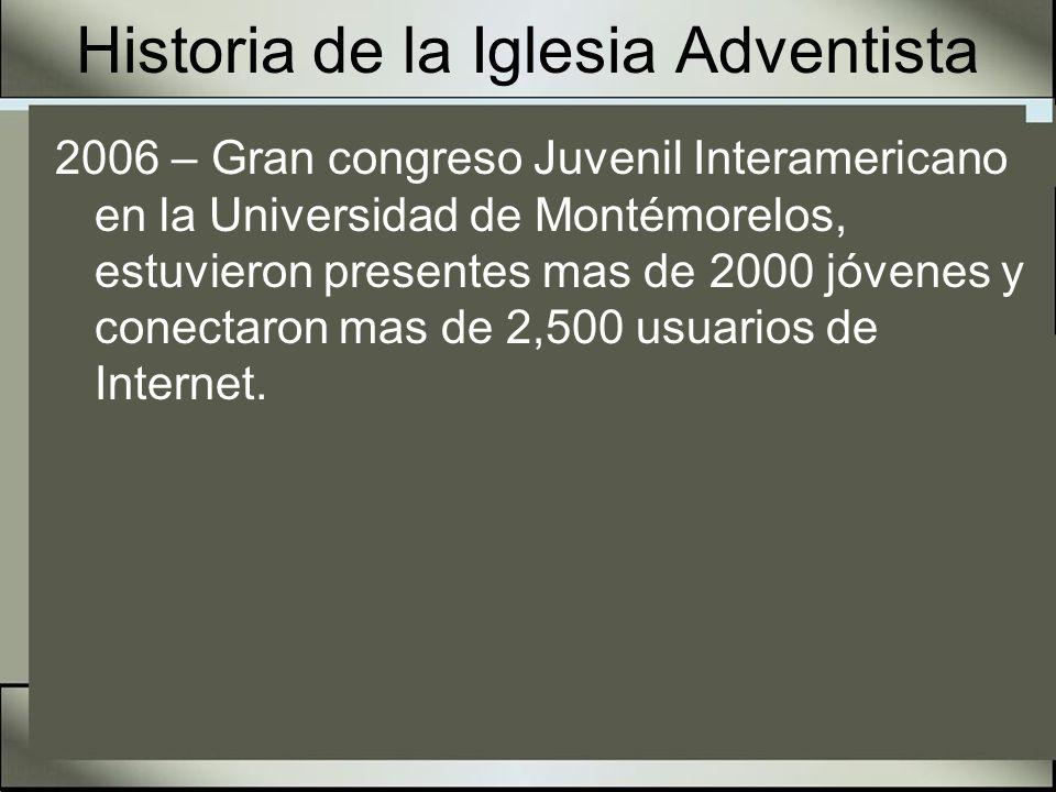 Historia de la Iglesia Adventista 2007 – Solo Pídelo – Primer NAD Conferencia mundial de la Oración.