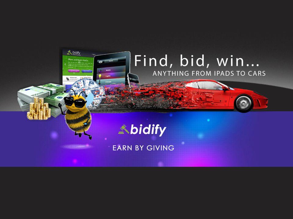 No Somos Una Oportunidad de Inversión MPORTANTE INFORMACIÓN ANTES DE COMENZAR NUESTRY PRESENTACIÓN Si usted hace una compra de Bidify, usted está comprando una suscripción de Bids (Ofertas) de Reventa, al por menor o al detalle (Retail Bids Subscription), o usted está comprando los Bids (Sample Bids) para regalar como muestras a los clientes del sitio de subasta Bidsson.