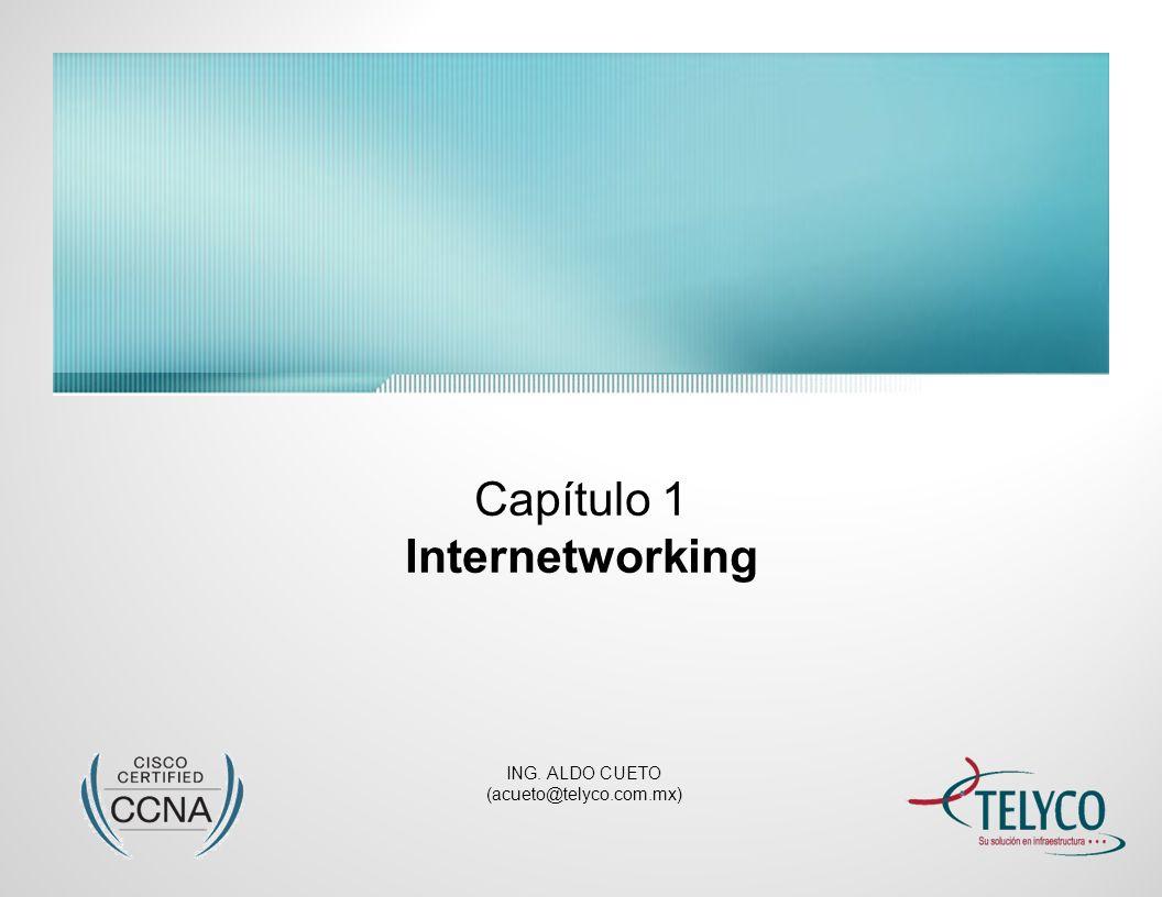Internetworking Introducción Internetworking Define la interconexión entre dos o mas redes LAN/WAN a través de un Router y por medio de la configuración de un esquema de direccionamiento de red lógico, basado en algún protocolo de capa 3 del modelo de referencia OSI (ej.: IP).