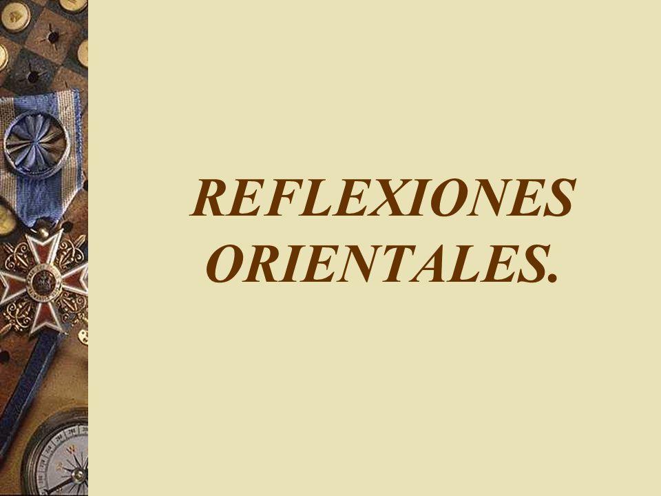 REFLEXIONES ORIENTALES.