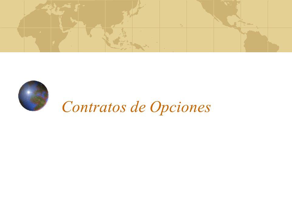Contratos de Opciones