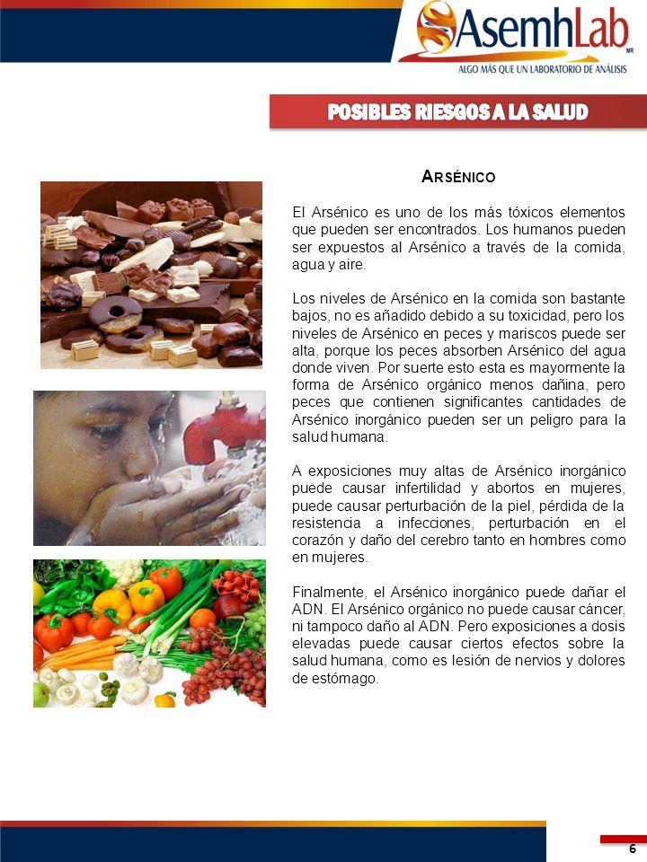 7 C OBRE El Cobre puede ser encontrado en muchas clases de comidas, en el agua potable y en el aire.