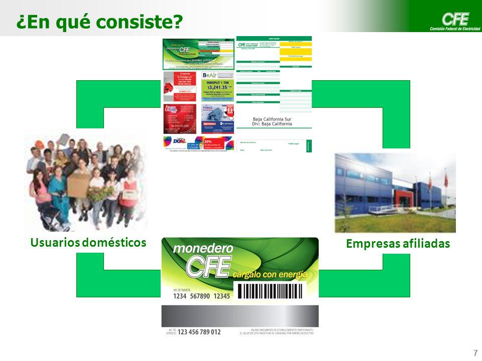 8 8 Aviso-Recibo: Utilización de espacios disponibles para insertar comunicación de empresas afiliadas.