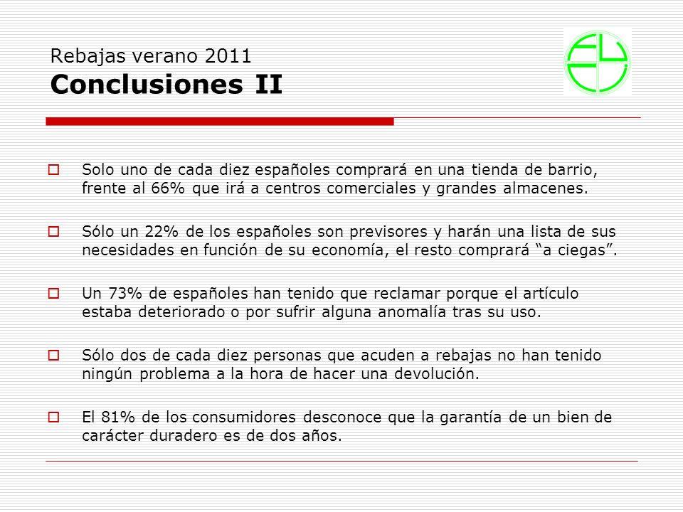 Solo uno de cada diez españoles comprará en una tienda de barrio, frente al 66% que irá a centros comerciales y grandes almacenes.