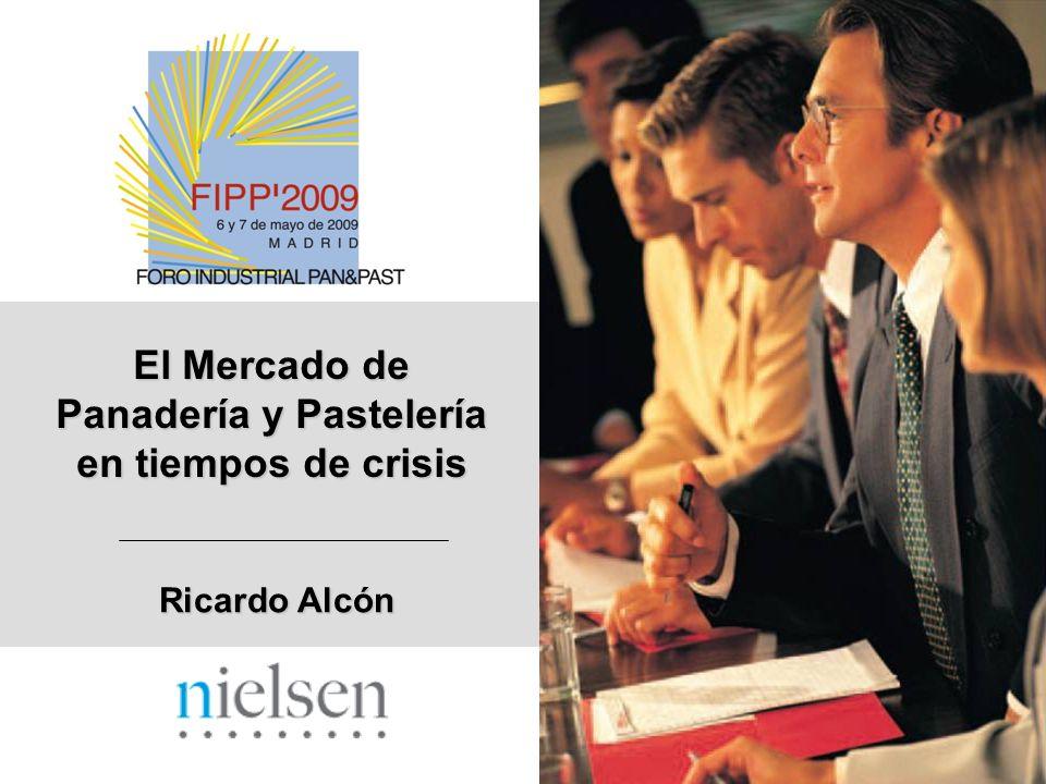 El Mercado de Panadería y Pastelería en tiempos de crisis Ricardo Alcón