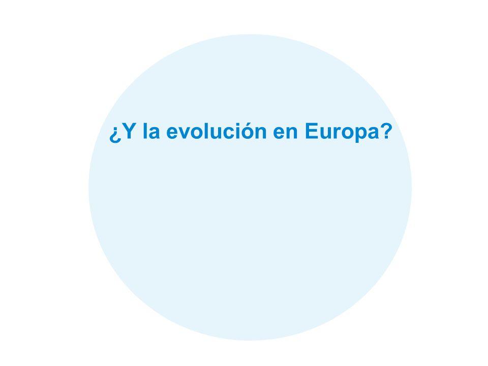 29 ¿Y la evolución en Europa?