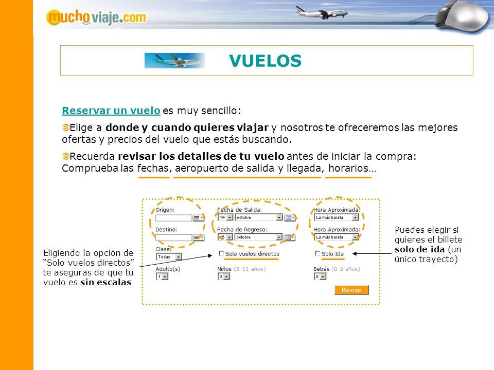 Reservar un vueloReservar un vuelo es muy sencillo: Elige a donde y cuando quieres viajar y nosotros te ofreceremos las mejores ofertas y precios del