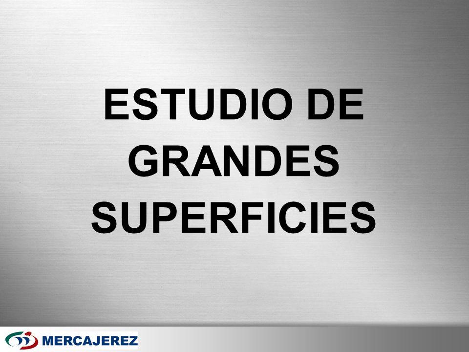 Here comes your footer Page 41 ESTUDIO DE GRANDES SUPERFICIES