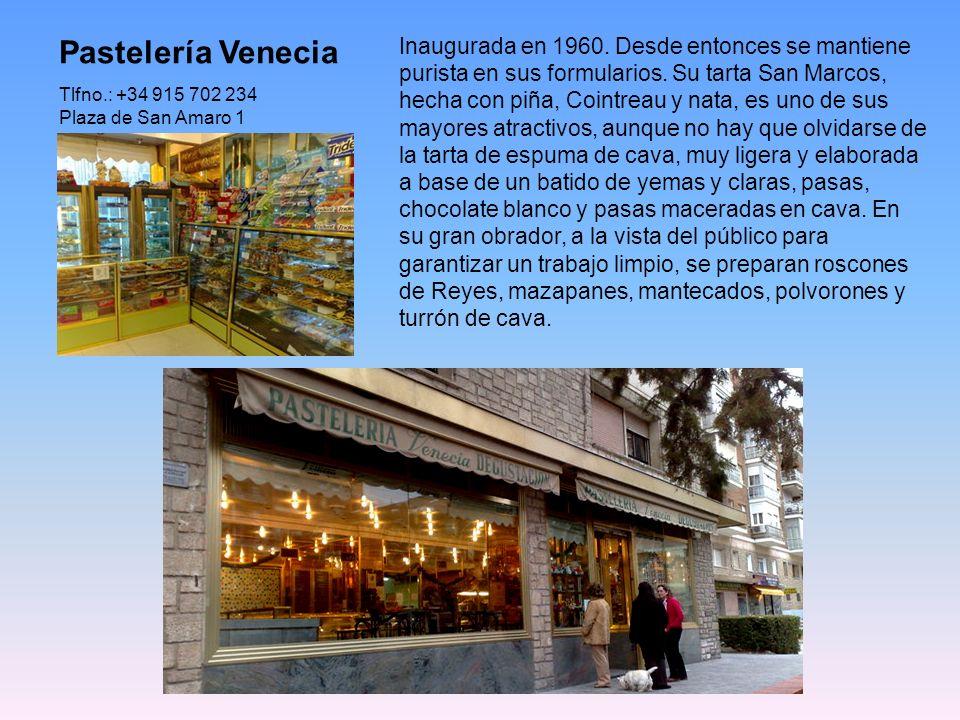 El Horno de San Onofre Horno La Santiaguesa, en c/ Mayor, 73 La Tahona San Onofre, en Hortaleza, 9 Horno San Onofre, en c/ S. Onofre, nº 3 San Onofre,
