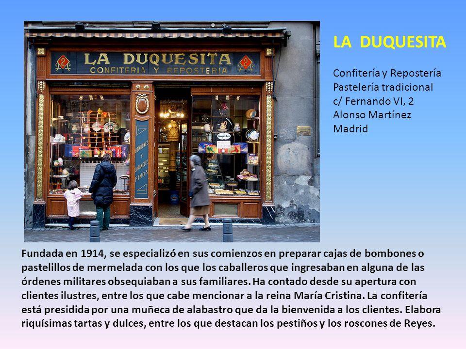 Calle del Pozo, 8 Teléfono: 91-522.38.94 Distrito: Centro. Barrio: Sol Horario: L-D de 09:30 a 14 y de 17 a 20 h Cómo llegar: metro L2 Sevilla De ahí
