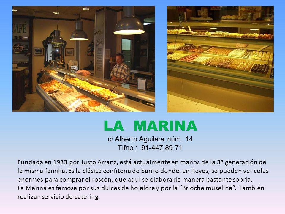 Pastelería Cala Millor Tlfno.: 917 381 661 Calle de Fermín Caballero 70 28034 Madrid Aunque la tradición familiar viene de los años 50 en la calle Santa Engracia (entonces Joaquín García Morato), la empresa Cala-Millor surge en 1979 por iniciativa de D.