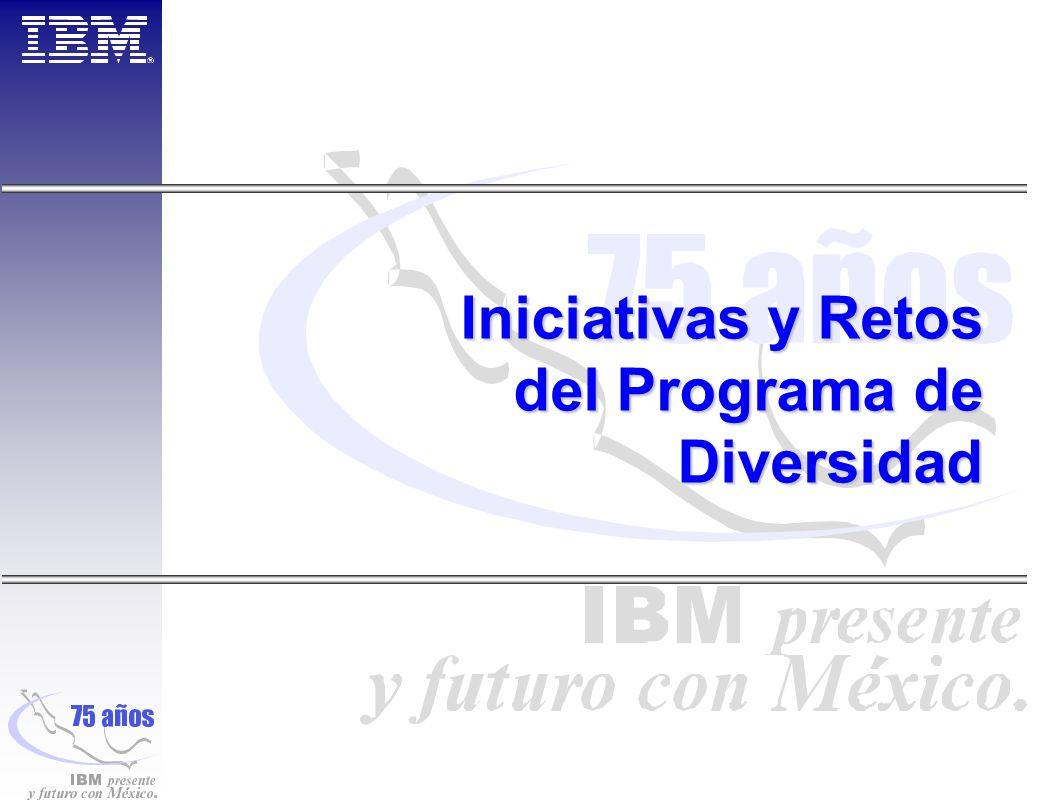 Iniciativas y Retos del Programa de Diversidad