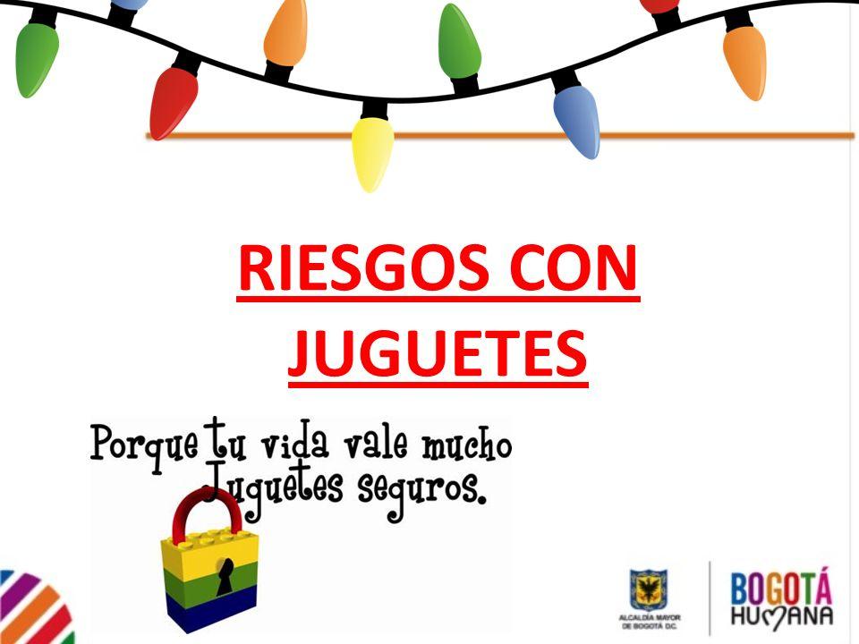 RIESGOS CON JUGUETES