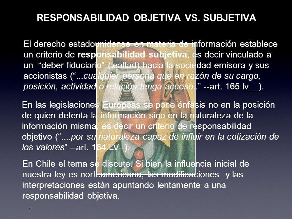 2 RESPONSABILIDAD OBJETIVA VS.