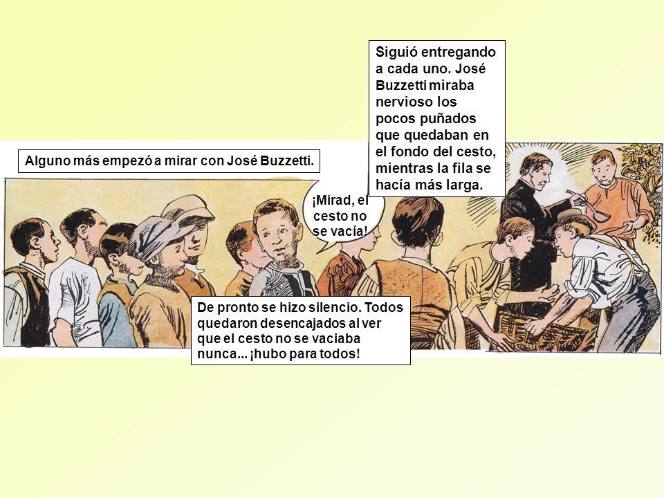 ¡Don Bosco es un Santo! Los muchachos gritaron por primera vez: