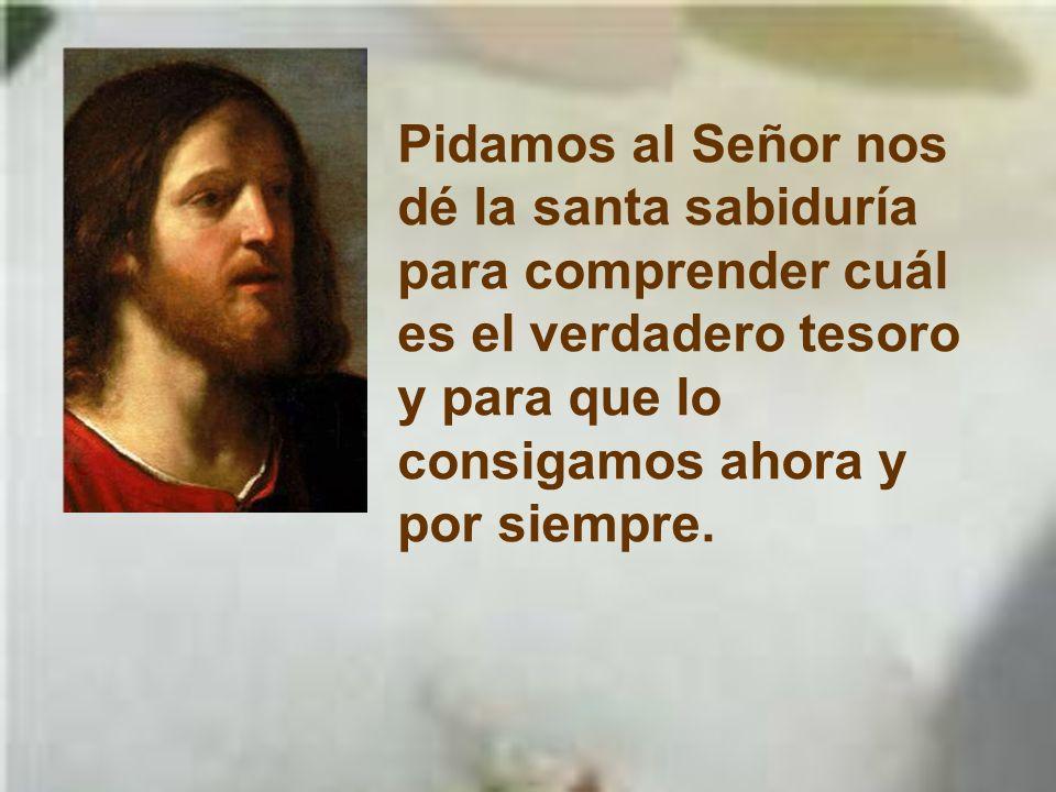 1Reyes 3,5.7-12 En aquellos días, el Señor se apareció en sueños a Salomón y le dijo: