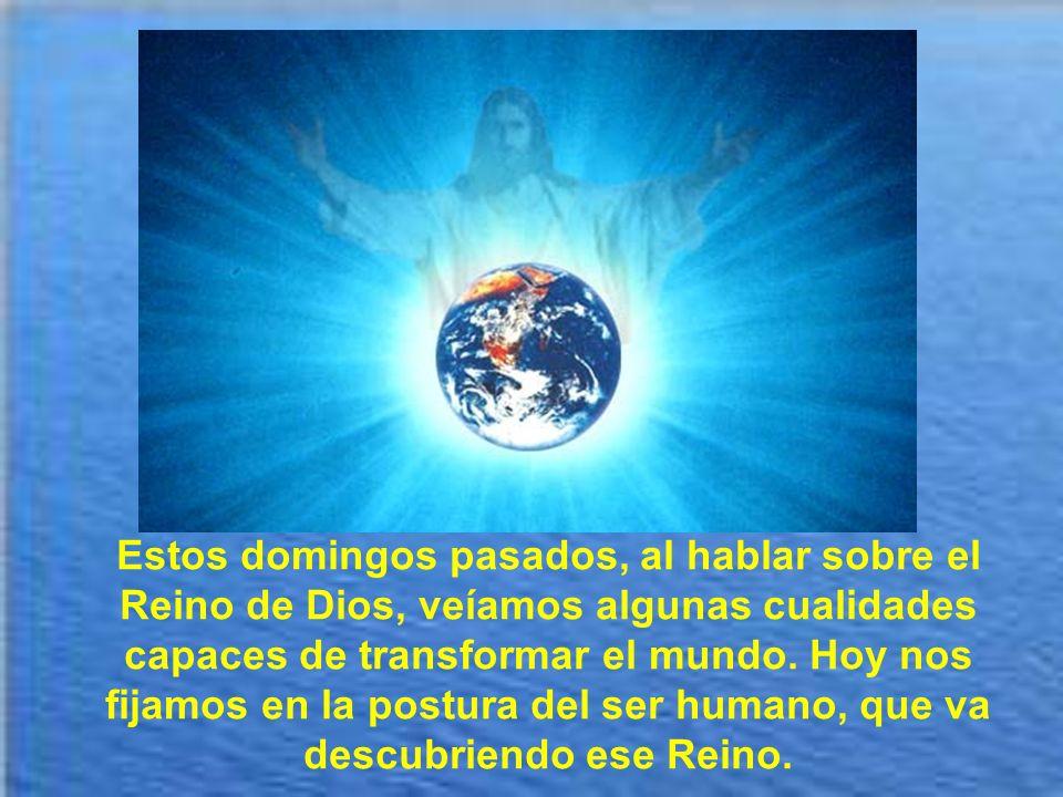 Tampoco el Reino de Dios es lo mismo que la Iglesia. La Iglesia es el terreno privilegiado donde el Reino se va edificando y es el germen y principio
